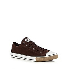 Converse - Boys' brown 'All Star' suede trainers