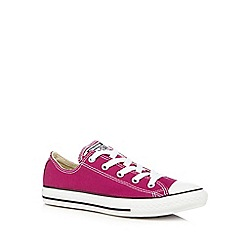 Converse - Girl's bright pink 'All Star' trainers