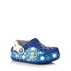 Disney Frozen - Girls Elsa Croc light-up sandals