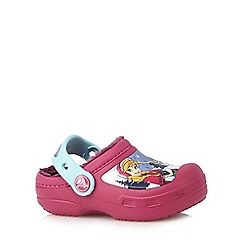 Crocs - Girls' purple 'Frozen' clogs