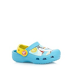 Disney Frozen - Boy's blue 'Olaf' clogs