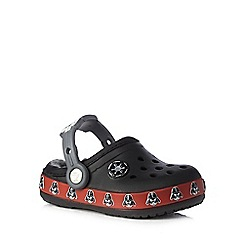 Crocs - Boys' black 'Star Wars' clogs