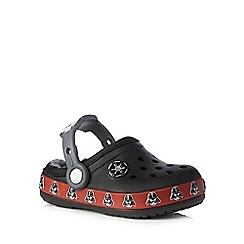 Crocs - Boys' black 'Star Wars' clogs