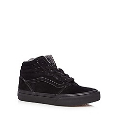 Vans - Boy's high top suede trainers