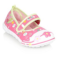 Peppa Pig - Girl's pink 'Peppa Pig' pumps