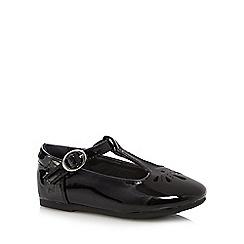 bluezoo - Girls' black T bar shoes