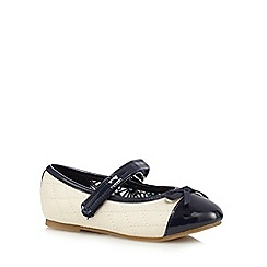 bluezoo - Girls' white quilted slip-on shoes