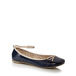 bluezoo - Navy bow flats
