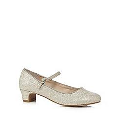 bluezoo - Gold glitter Mary Jane shoes