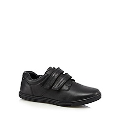 Debenhams - Boys' black school shoes