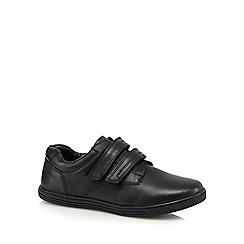 Debenhams - Boys' black school shoes