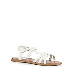 bluezoo - Girls' white sandals