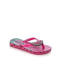 Ipanema - Pink watermelon flip flops