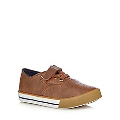 bluezoo - Boys' brown brogue trainers