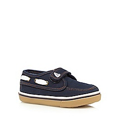 bluezoo - Boys' navy boat shoes