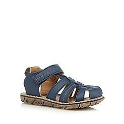 bluezoo - Boys' navy closed toe sandals