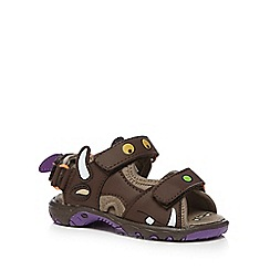 The Gruffalo - Boys' brown 'Gruffalo' sandals