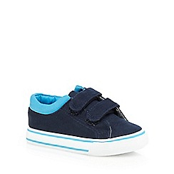 bluezoo - Boys' navy double tab shoes