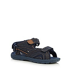 bluezoo - Boys' navy denim sandals