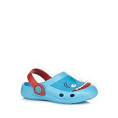 bluezoo - Boys' blue shark sandals