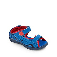 bluezoo - Boys' red rip tape sandals