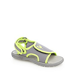 bluezoo - Boys' grey and green sandals