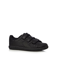bluezoo - Boys' black rip tape trainers