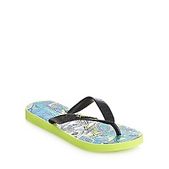 Ipanema - Boys' green BMX flip flops