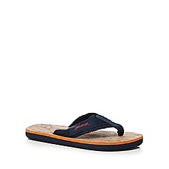 Mantaray - Boys' light tan flip flops