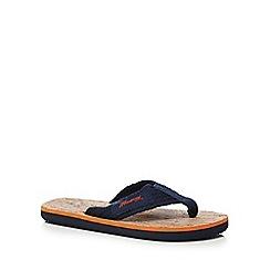 Mantaray - Boys' light tan flip flops