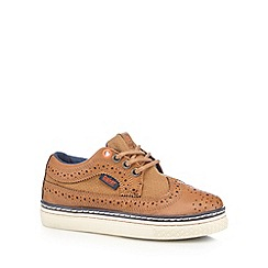 Baker by Ted Baker - Boys' tan brogue shoes
