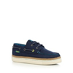Baker by Ted Baker - Boys' navy boat shoes