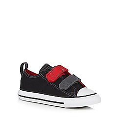 Converse - Boys' black trainers