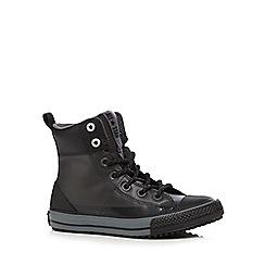 Converse - Boys' black 'Asphalt' ankle boots