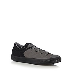 Converse - Boys' dark grey trainers