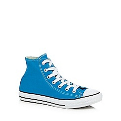 Converse - Boys' blue 'Chuck Taylor High' trainers