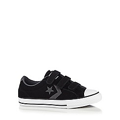 Converse - Boys' suede three tab trainers