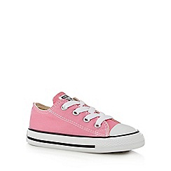 Converse - Girls' pink 'All Star' trainers