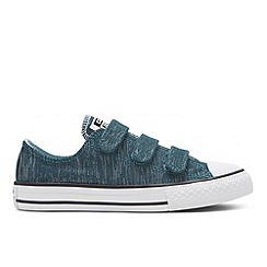 Converse - Girls' turquoise 'All Star' trainers