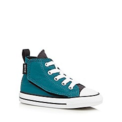 Converse - Boys' dark green 'All Star' hi-top sneakers
