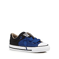 Converse - Boys' blue contrast 'All Star' trainers
