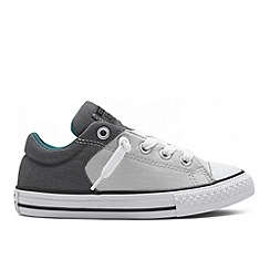 Converse - Boys' grey 'All Star' trainers
