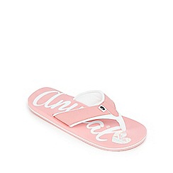 Animal - Girls' pink flip flops