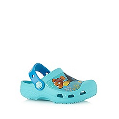 Crocs - Girls' blue 'Finding Dory' print sandals