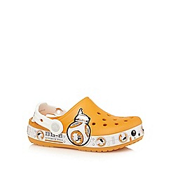 Crocs - Boys' orange Star Wars sandals