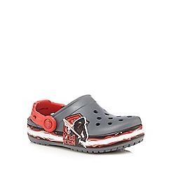Crocs - Boys' black Star Wars sandals