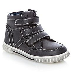 bluezoo - Boy's grey high top trainers