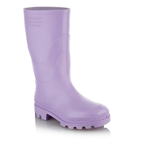 bluezoo - Girls+ lilac wellies