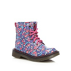 bluezoo - Girls' multi-coloured floral boots