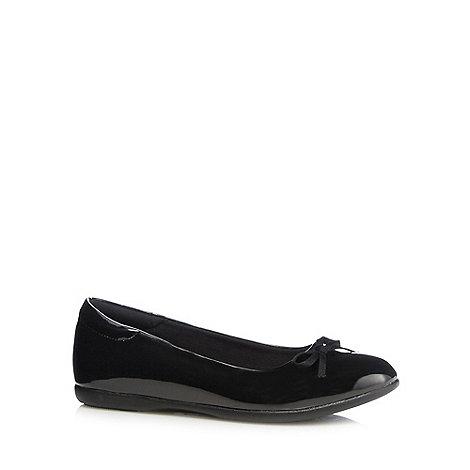 debenhams black patent slip on shoes debenhams